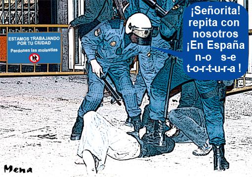 maltrato policial