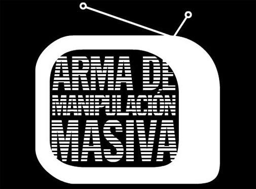 tv arma de manipulación